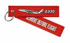 Porte-Clés Remove Before Flight Airbus A330