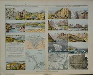 1880-PRINT-ILLUSTRATIONS-OF-ACTION-RAIN-amp-STREAMS-WATERFALL-ICE-amp-SNOW