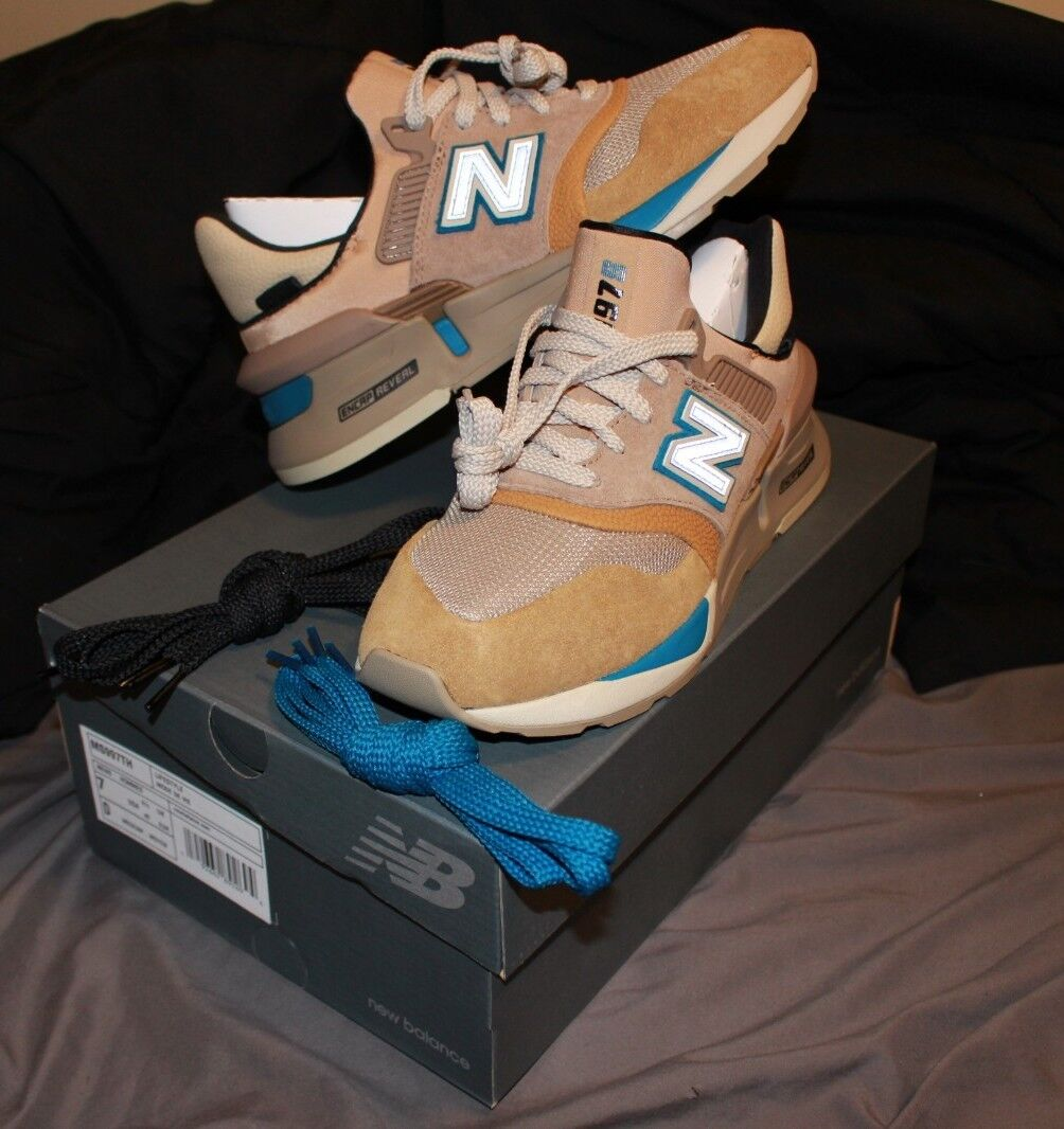 new products 35a98 dd624 KITH X New Balance X nonnative 997S (Tan/Beige, Size Men's 7 ...