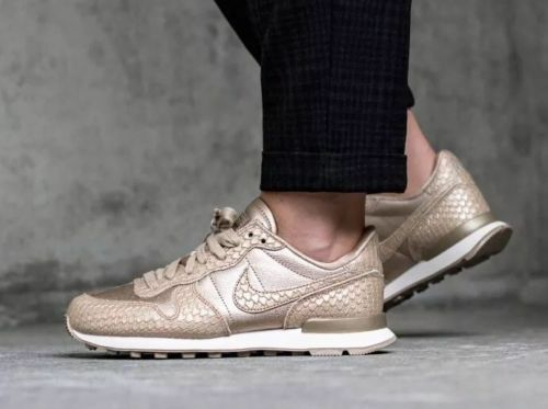 Damenschuhe NIKE INTERNATIONALIST PRM ,,SNAKESKIN'' SIZE 3 EUR 36 36 36 (828404 900) GOLD 745aa1