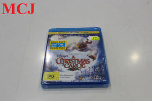 Brand-New-Disney-039-s-a-Christmas-Carol-Jim-Carrey-Blu-ray-HD-amp-DVD