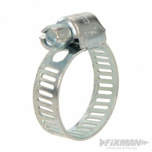 Schlauch 10er-Pckg O 16-22mm Fixman 625821 Schlauchschellen