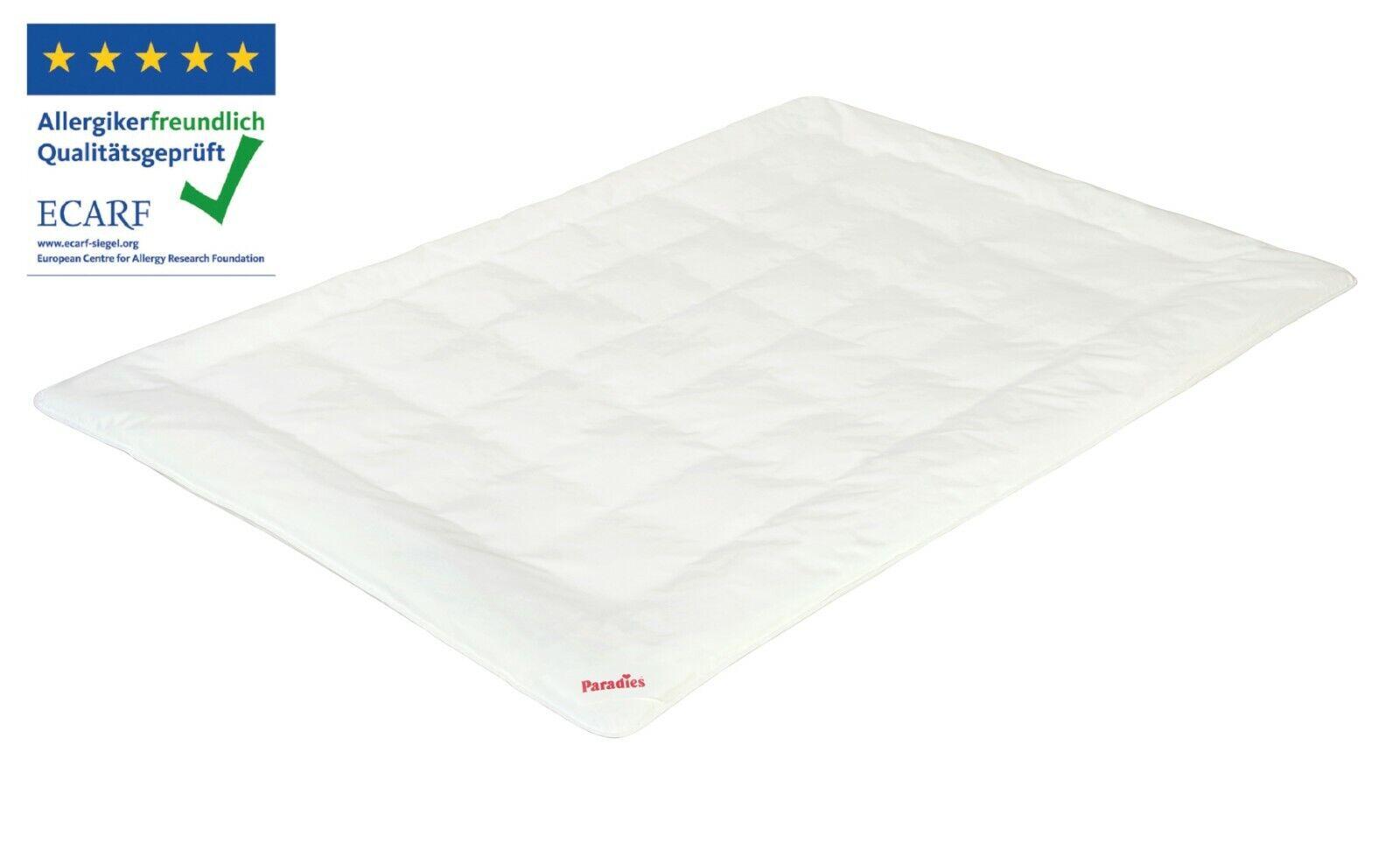Paradies Antiallergo Bettdecke 135x200 cm, die Hausstaubmilben-Allergiker Decke