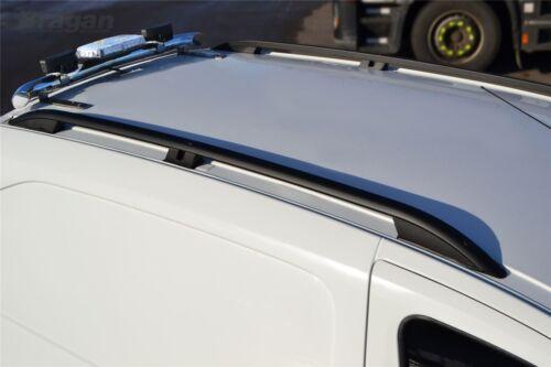 Mercedes Vito Viano ELWB Black Aluminium Roof Rack Rails To Fit 2014