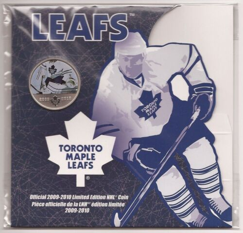 Toronto Maple Leafs 2010 50 Cents Hockey Canada Coin