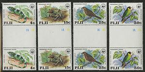 Fiji-1979-Scott-397-400-Mint-Never-Hinged-Gutter-Pair-Set