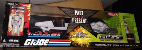 GIJOE GI JOE PAST AND PRESENT ROCKSLIDE ATAV SNOW JOB 2 Pack Arah Rise Of Cobra