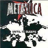 Until It Sleeps / Overkill Metallica Audio CD Used - Good - $6.99