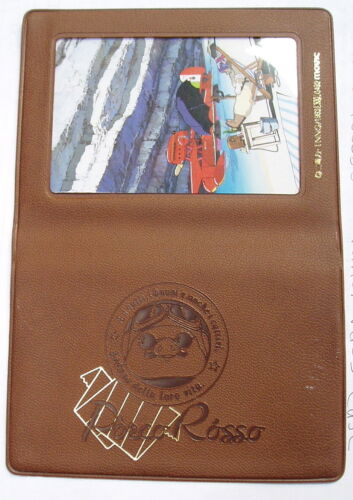 JAPANESE VINTAGE MINT DEAD STOCK  RARE! PASS HOLDER PORCO ROSSO WALLET