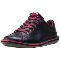 Camper Beetle Mens Shoes Black Red Shoes