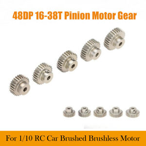 Details about 48 DP Pitch Pinion Gear With Grub Screw Coated Long Life Core  RC 16T-38T