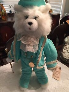 VINTAGE-1990-TILLY-COLLECTIBLES-PLUSH-20-CONRADO-CABRILLO-THE-CAT-Numbered
