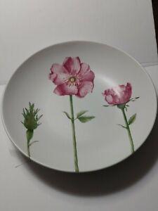 Villeroy-amp-Boch-Flora-Summerfield-Serving-Bowl-Country-Pink-Rose-14-034-Diameter