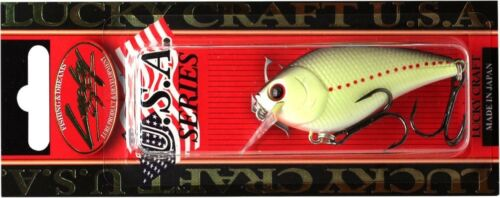 LUCKY CRAFT LC 1.5-404 Chartreuse Perch 1qty