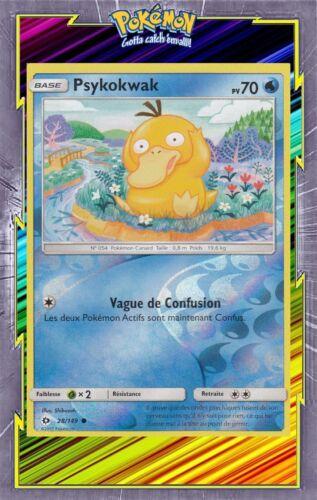 Psykokwak Reverse - SL1:Soleil et Lune - 28/149 - Carte Pokemon Neuve Française