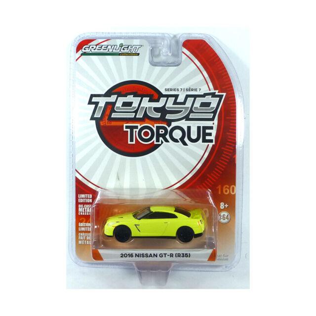 Greenlight 47050-E Nissan (R35) Yellow - Tokyo Torque Scale 1:64 New !°