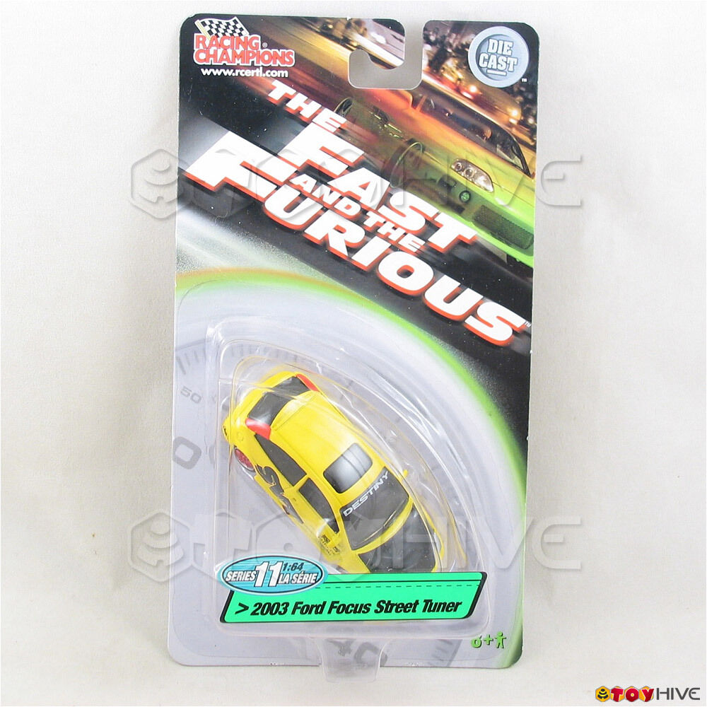 Fast and furious 1 64 2003 ford focus street tuner - champions serie 11
