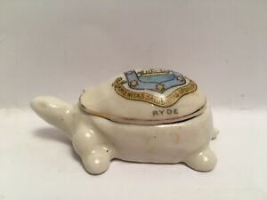 Vintage-Crested-China-Ryde-Turtle