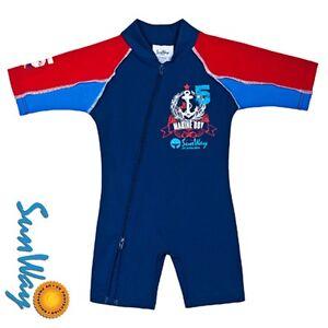 02ce7ff3ba Baby Girls Boys Swimwear Swimsuit Sun suit Sun Protection UV UPF50+ ...