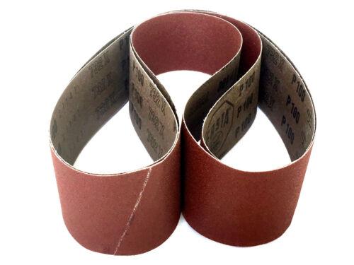 18 Pack Sanding Belts 2 X 48 Aluminum Oxide Cloth Sander Belts 320 Grit