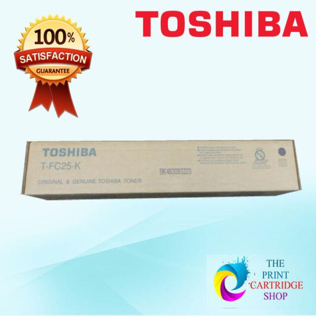 New & Original Toshiba T-FC25-K Black Toner Cartridge 2040c 2540 3040 3540 3540C