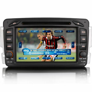 Autoradio-GPS-Navi-CD-USB-Mercedes-Benz-C-CLK-G-Klasse-W203-W209-W639-Vito-Viano
