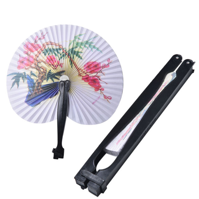 Elegant Paper Hand Fan Folding Wedding Party Favor Decoration Colorful HOT NT