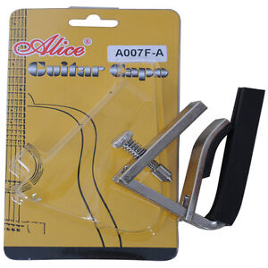 GUITAR Alice A 007 CLAMP ACOUSTIC & ELECTRIC quick & Easy ...