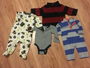 Boy-039-s-Mixed-Clothing-Lot-Size-6-12-Months-Athletics-Dept-Old-Navy-amp-Carters