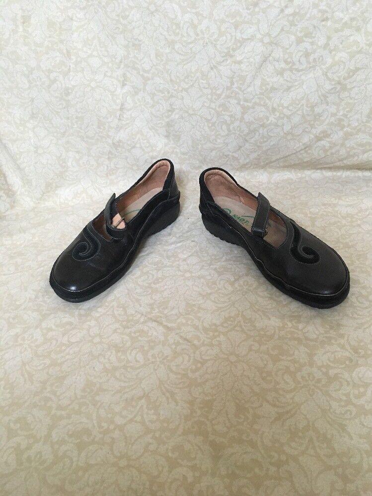Naot Kirei Negro Combinat, Zapatos para mujer, tamaño 4M 4M 4M  todos los bienes son especiales