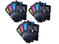 12 Non-OEM For Brother LC1100BK LC1100C LC1100M LC1100Y Ink Cartridges