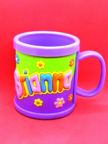 My Name Childs cup Personalized 3D kids mugs Boy/&Girls 14OZ  US Seller
