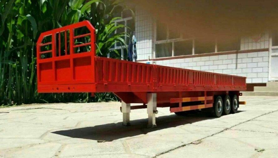1 14 3-axis 1000 MM remolque de aluminio hecho a mano para Tamiya cabina camión semi nuevo