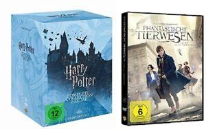 Harry Potter Box Komplettbox Teil 1-7.2 + Phantastische Tierwesen DVD Set NEU