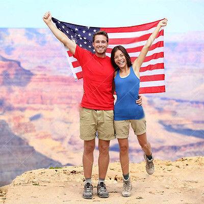 3'x5' US FLAG USA American Stars Stripes United States Grommets