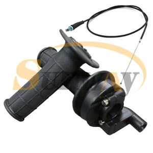 Universal-Moto-22MM-7-8-034-Guidon-PoigneEs-Avec-CaBle-D-039-AcceLeRateur-Set