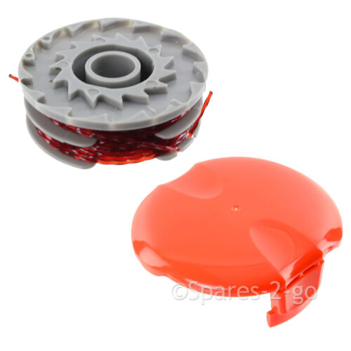 Spool /& Line Double Autofeed FLYMO Genuine Strimmer Trimmer Head Cap
