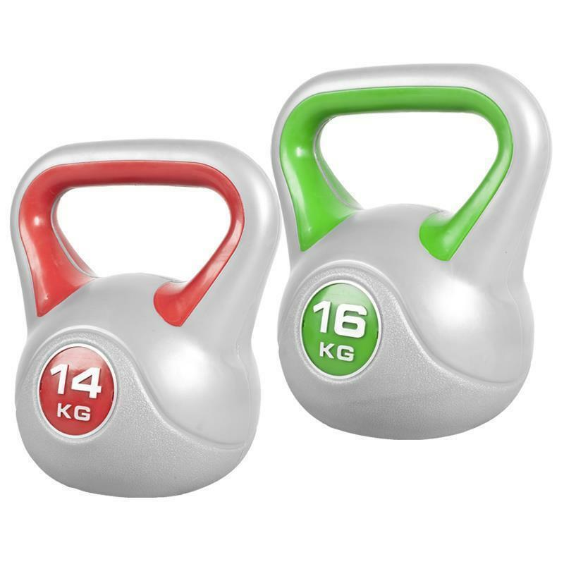 Gorilla Sports Kettlebells im Set 14+16kg Kettlebell Stylish Kugelhantel Gewicht