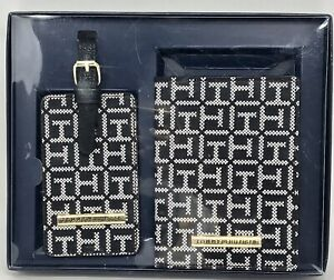 Tommy-Hilfiger-Passport-Holder-and-Luggage-Tag-Gift-Set-NWT