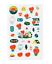 miniature 8 - Official BTS BT21 Green Planet Clear Sticker +Freebie +Free Tracking KPOP