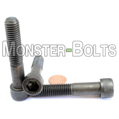 Socket Head Cap Screws 12.9 Alloy Steel Black Ox M12 12mm x 1.75 x 65mm  Qty 5
