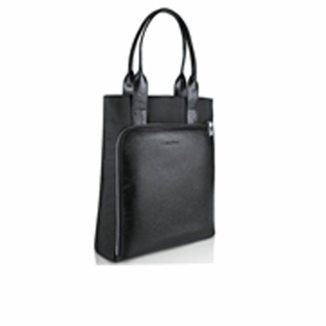 "CALVIN KLEIN Tote Bag in Black 15"" x 14"" x 4"" approx (rst61)"