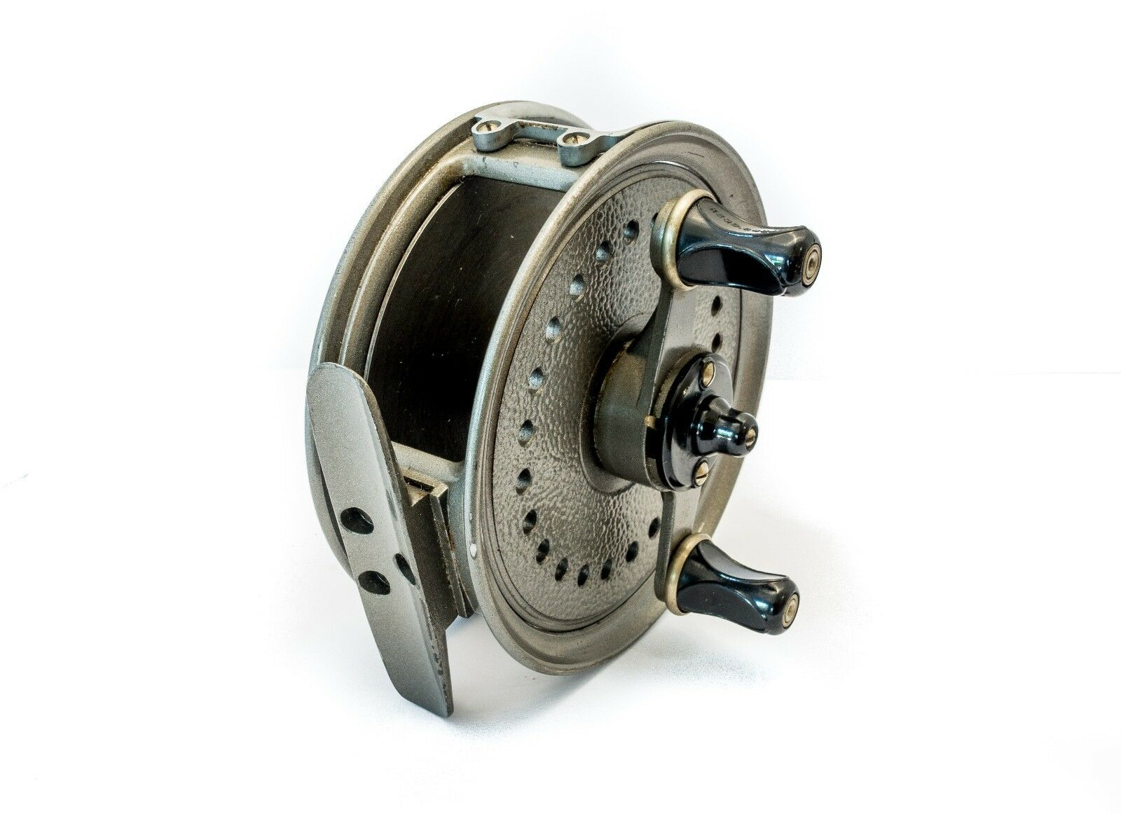 J W Young of Redditch Landex salmon fly fishing reel with spool line