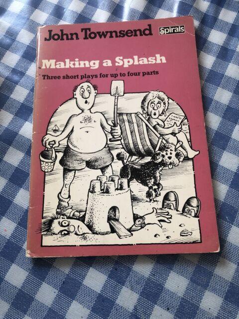 Making a Splash 1st 1987 Signed By John Townsend Rare Pb