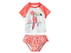 NWT-Gymboree-Girls-Tucan-2pc-Swimwear-50-UPF-Protection-Sizes-3T-4T-5T
