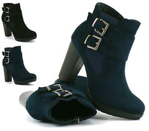 NEW-LADIES-WOMENS-HIGH-HEEL-CHELSEA-ANKLE-BOOTS-CHUNKY-BLOCK-SHOES-SIZE