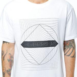 T-shirt-Maglietta-Manica-Corta-Stampa-100-Cotone-Casual-Uomo-Bianca-JUNKYARD-M
