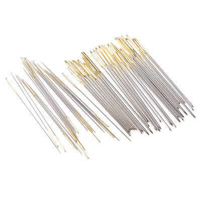 20pcs Large-Eye Embroidery Cross Stitch Needles Tapestry Darning Needle 28#