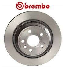 Brake Discs 302mm Solid Volvo S60 D3 D5 AWD D5 T6 AWD Rear Delphi Brake Pads