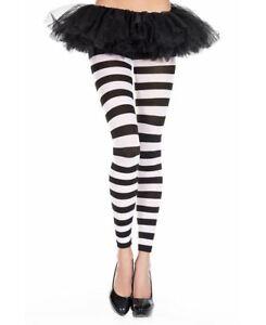 New Music Legs 35811 Zebra Print Opaque Leggings